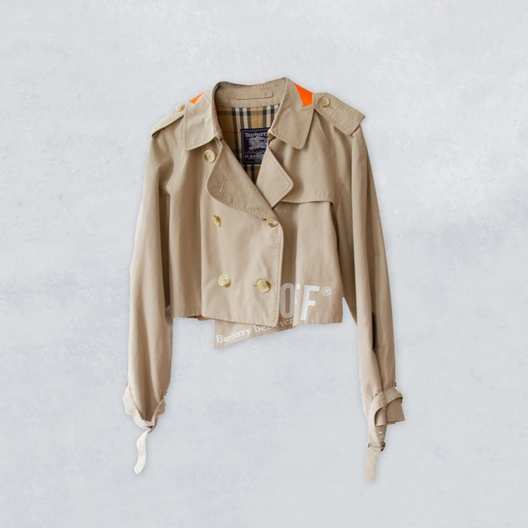 1/OFF Paris Burberry trench cropped 190